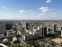 Nairobi city royalty free stock photography