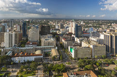 Nairobi City Hall And Northern Business District, Kenya Stock Image