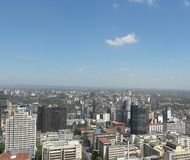 Nairobi city ,Kenya. Beautiful city with lovely buildings Stock Image