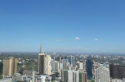 Nairobi city ,Kenya. Beautiful city with lovely buildings Stock Photo
