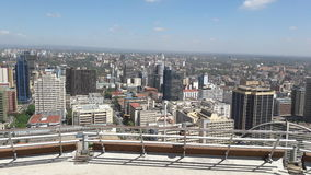 Nairobi city ,Kenya. Beautiful city with lovely buildings Royalty Free Stock Images