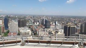 Nairobi city ,Kenya. Beautiful city with lovely buildings Royalty Free Stock Photo