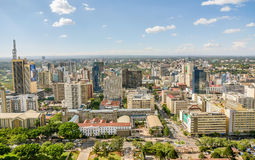 Nairobi city, Kenya Stock Photography