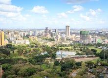 Nairobi cityscape - capital city of Kenya Royalty Free Stock Photo