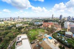 Nairobi cityscape - capital city of Kenya Royalty Free Stock Photos