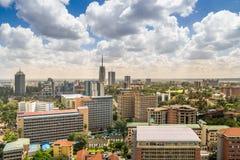 Nairobi du centre - capitale du Kenya Image stock