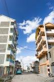 Nairobi förorter gata, Kenya, ledare Fotografering för Bildbyråer