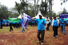 Nairobi Hospice Charity Walk. To raise funds for its patients in Nairobi Kenya Stock Photography