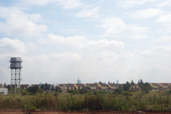 Nairobi Kenya, Africa city town suburb countryside road Royalty Free Stock Image