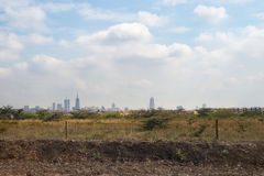 Nairobi Kenya, Africa city town suburb countryside road Stock Photography