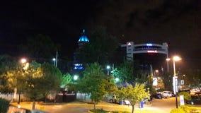 Nairobi night lights. Local bar Nairobi Stock Photography