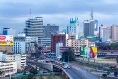 Nairobi Skyline Stock Photography