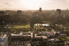 Nairobi Uhuru Park, Kenya Fotografering för Bildbyråer