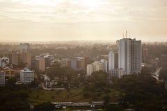 Nairobi Uhuru Park, Kenya, ledare Arkivbilder