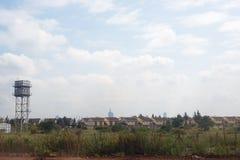 Nairobia Kenja, Afryka miasta przedmieścia wieś grodzka droga Obraz Royalty Free
