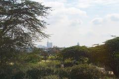 Nairobia Kenja, Afryka miasta przedmieścia wieś grodzka droga Fotografia Royalty Free