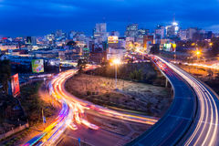 Nairobia linia horyzontu Zdjęcie Stock