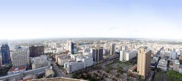 Nairobia miasto Kenja zdjęcia royalty free