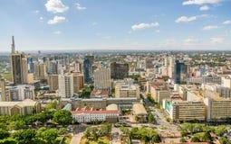 Nairobia miasto, Kenja fotografia stock