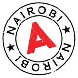 Nairobia znaczka gumy grunge Fotografia Stock