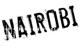 Nairobia znaczka gumy grunge Obrazy Stock