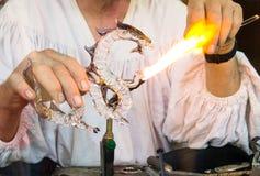 Naissance d'un dragon Photographie stock libre de droits