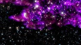 Naissance d'une nébuleuse neuve d'explosion ou de Big Bang Images libres de droits