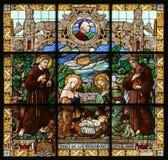 Naissance de Jésus Image libre de droits