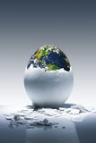 Naissance de planète Photographie stock libre de droits