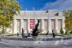 Naissance de Venus Fountain à la plaza de Showalter Image stock