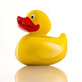 Naissance du canard en caoutchouc Images libres de droits