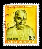 Naissance Motilal centenaire Nehru - politicien, centenaires - personne photographie stock