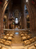 St. Magnus Cathedral. Naive of St. Magnus Cathedral, Kirkwall, Orkney Royalty Free Stock Images