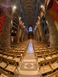 St. Magnus Cathedral. Naive of St. Magnus Cathedral, Kirkwall, Orkney Stock Images