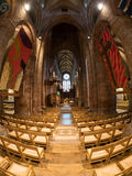 St. Magnus Cathedral. Naive of St. Magnus Cathedral, Kirkwall, Orkney Royalty Free Stock Photos