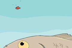 Naiwny Goldfish ilustracji