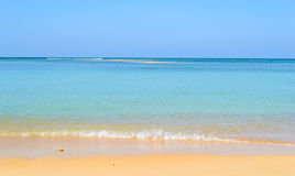 Naiyang beach on the weekend Royalty Free Stock Image