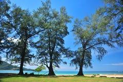 Naiyang strand Arkivbilder