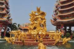 Naja Chinese shrine in Thailand. Royalty Free Stock Images