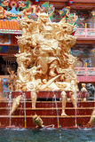 Naja statue of Chinese shrine temple Royalty Free Stock Photography