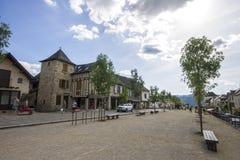 Najac, Francia imágenes de archivo libres de regalías