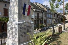 Najac, Francia imagen de archivo libre de regalías