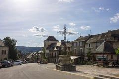 Najac, Francia fotografía de archivo libre de regalías