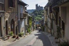 Najac, Francia fotografía de archivo