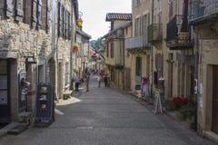 Najac, Francia foto de archivo libre de regalías
