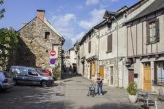 Najac, Francia imagen de archivo