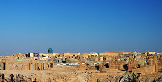 An-Najaf muslim cemetery, Iraq Royalty Free Stock Image