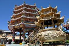 Najasaataichue Chinese tempel stock afbeelding