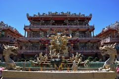 Najasaataichue Chinese tempel stock foto's