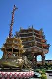 Najasaataichue Chinese tempel royalty-vrije stock afbeeldingen